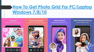 how to and install photo grid for pc laptop windows 7 8 10