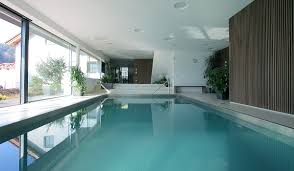 ... The Best Home Swimming Pools Decoration Ideas With Breathtaking  Accessories : Terrific Indoor Rectangle Pools With ...