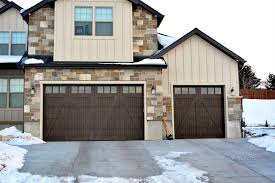 carriage house garage doorsModern Custom Garage Doors  Provo Orem UT  Vidor Garage Doors