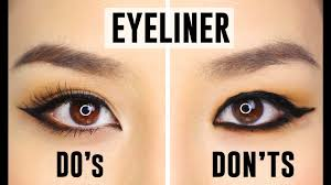 12 mon eyeliner mistakes you could be making do s and dont s you