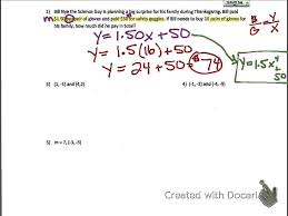 common core math writing linear equations practice