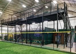 warehouse mezzanine modular office. Mezzanines And Modular Offices Resources: Warehouse Mezzanine Office