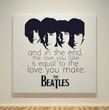 The Beatles Quotes Extraordinary The Beatles Quotes The Beatles The End Song Quotes 48X48
