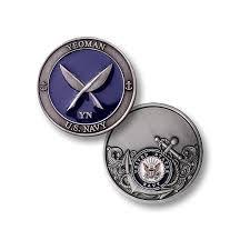 U S Navy Yeoman Usn Challenge Coin