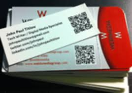 tech business card what will the future of business cards look like readwrite
