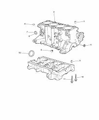 2007 chrysler pt cruiser cylinder block hardware related parts thumbnail 4