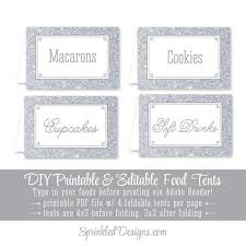 Editable Foldable Templates Printable Fold Over Place Cards Download Them Or Print