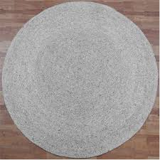 tairua round wool rug silver birch 180cm nz 725 00