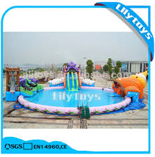 underwater water park. Underwater World Theme Inflatable Land Moving Water Park With Slide And Pool For Sale