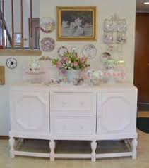 White furniture shabby chic Bedroom Shabby Chic Pink And White Hutch Pinterest 265 Best Shabby Chic Buffets Hutches Cabinets Images Painted