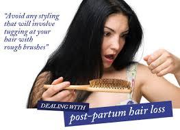 hair horror post partum hair loss