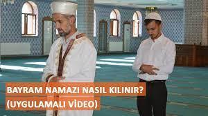 Bayram namazı nasıl kılınır? (Uygulamalı video) - YouTube