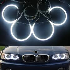 Halo Light Kits For Cars 4x131mm White Blue Red Car Ccfl Halo Rings Angel Eyes