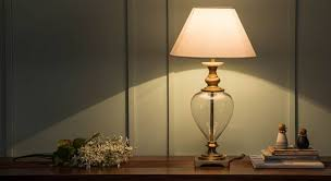 table lamp.  Table Rossetti Table Lamp Brass Base Finish White Shade Color Conical  Shape And T