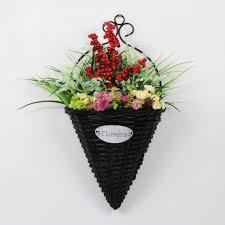 outdoor artificial flowers hanging baskets fl m 028