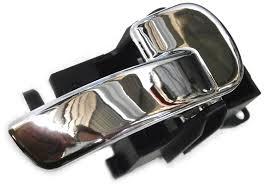 nissan navara inner chrome door handle rh front or rear d40 spanish vsk models