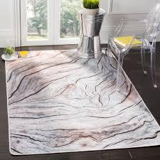 cream grey safavieh daytona polyester area rugs day111a