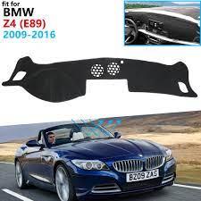 Dashboard Cover Protective Pad for BMW Z4 E89 2009~2016 Car Accessories  Dash Board Sunshade Anti UV Carpet 2010 2013 2014 2015|Car Stickers