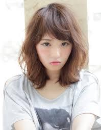 ひし形ミディアムパーマyk121 ヘアカタログ髪型ヘアスタイル