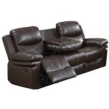 reclining sofa chair.  Sofa Norwich Bonded Leather Reclining Sofa In Brown Inside Reclining Sofa Chair O