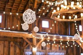 rustic barn wedding lighting barn wedding lights