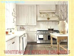 whitewashing oak kitchen cabinets whitewash