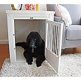 dog crates furniture style. new age pet white dog crate w metal spindles crates furniture style