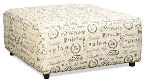 French Ottoman serena ottoman french script levin furniture 3370 by xevi.us
