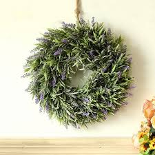 details about topiary wreaths garden artificial lavender flowers wreath front door home decor