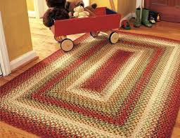 oval braided area rugs in rectangular cotton throw country