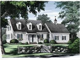 House Plan 34077 At FamilyHomePlanscomCape Cod Home Plans