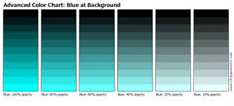 Stripgenerator Com Advanced Color Chart Blue At Background