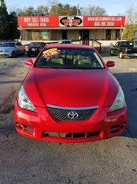 2008 TOYOTA CAMRY SOLARA SE for sale in Knoxville