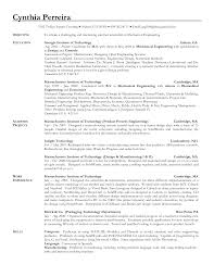 Objective For Resume For Mechanical Engineers Resume For Your
