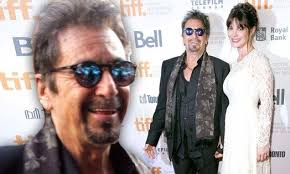 Al Pacino grins as he shows off much younger girlfriend Lucila Sola   Al  pacino, Perez hilton, Younger