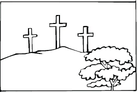 Cross Coloring Pictures Free Stations Of The Cross Coloring Pages
