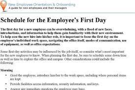 new employee orientation schedule 8 orientation schedule template free download