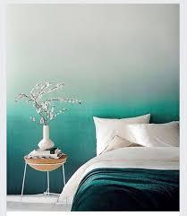 переход цвета на стене Wohnen Schlafzimmer Tapete Innenräume Y