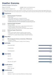 computer support technician resume desktop support resume sample writing guide 20 examples