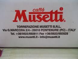 """"""" Caffè MUSETTI """""""