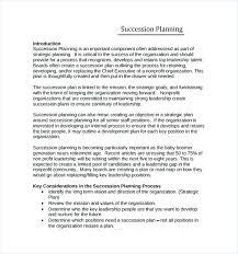 Management Succession Plan Template Management Succession Plan Plan ...