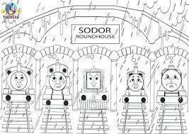 Thomas The Train Coloring Sheets Free Printable The Train Coloring