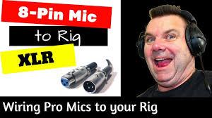 Connect <b>XLR</b> 3 pin connector to your <b>8-Pin</b> Radio Demo - YouTube
