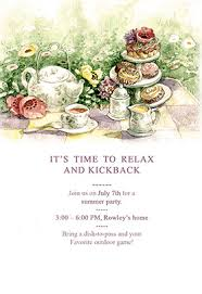 tea party templates tea party preview stunning tea party invitation template free