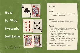 Filing the frame with learning. Pyramid Solitaire Card Game Rules