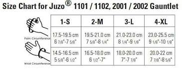 Juzo Compression Sleeve Size Chart Details About Juzo Soft 20 30 Mmhg Compression Gauntlet With Thumb Stub 1ea All Sizes 2001ac