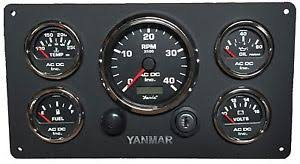 yanmar engine marine instrument panel, with wiring harness, 5 yanmar wiring harness diagrams at Yanmar Wiring Harness