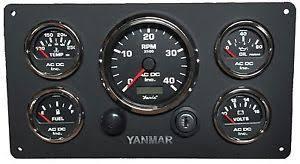 yanmar engine marine instrument panel, with wiring harness, 5 wiring harness yanmar tractor at Yanmar Wiring Harness