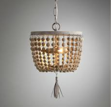 american country dauphine wood beads small pendant baby and child room lighting dining room iron pendant lamp in pendant lights from lights lighting on