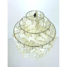 chandeliers mother of pearl chandelier by for j la 1 4 previous uk